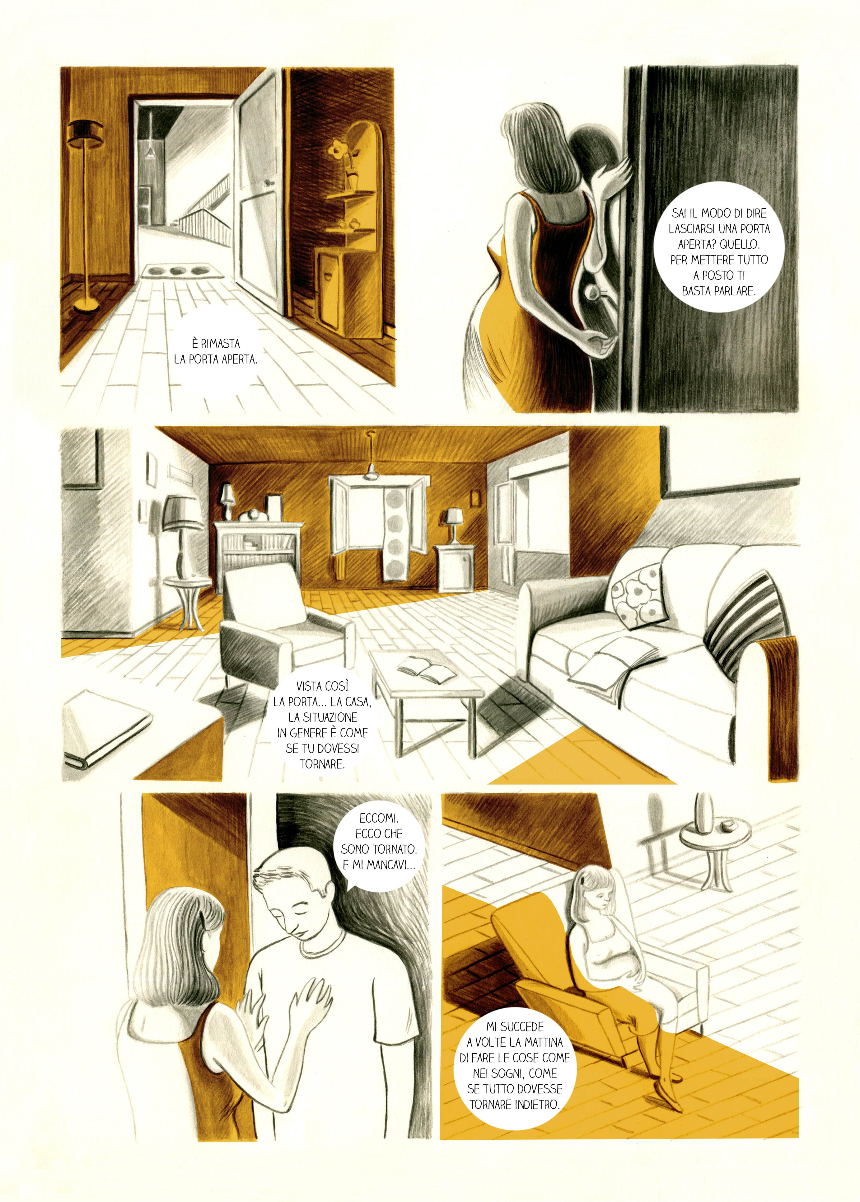 La fine dell'amore | graphic short story
