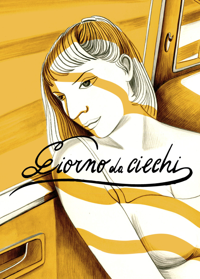 La fine dell'amore is a graphic short story by Ilaria Bernardini | Edizioni Hop! + isbn edizioni